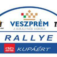 Rajtszámos nevezési lista a Veszprém rallyra