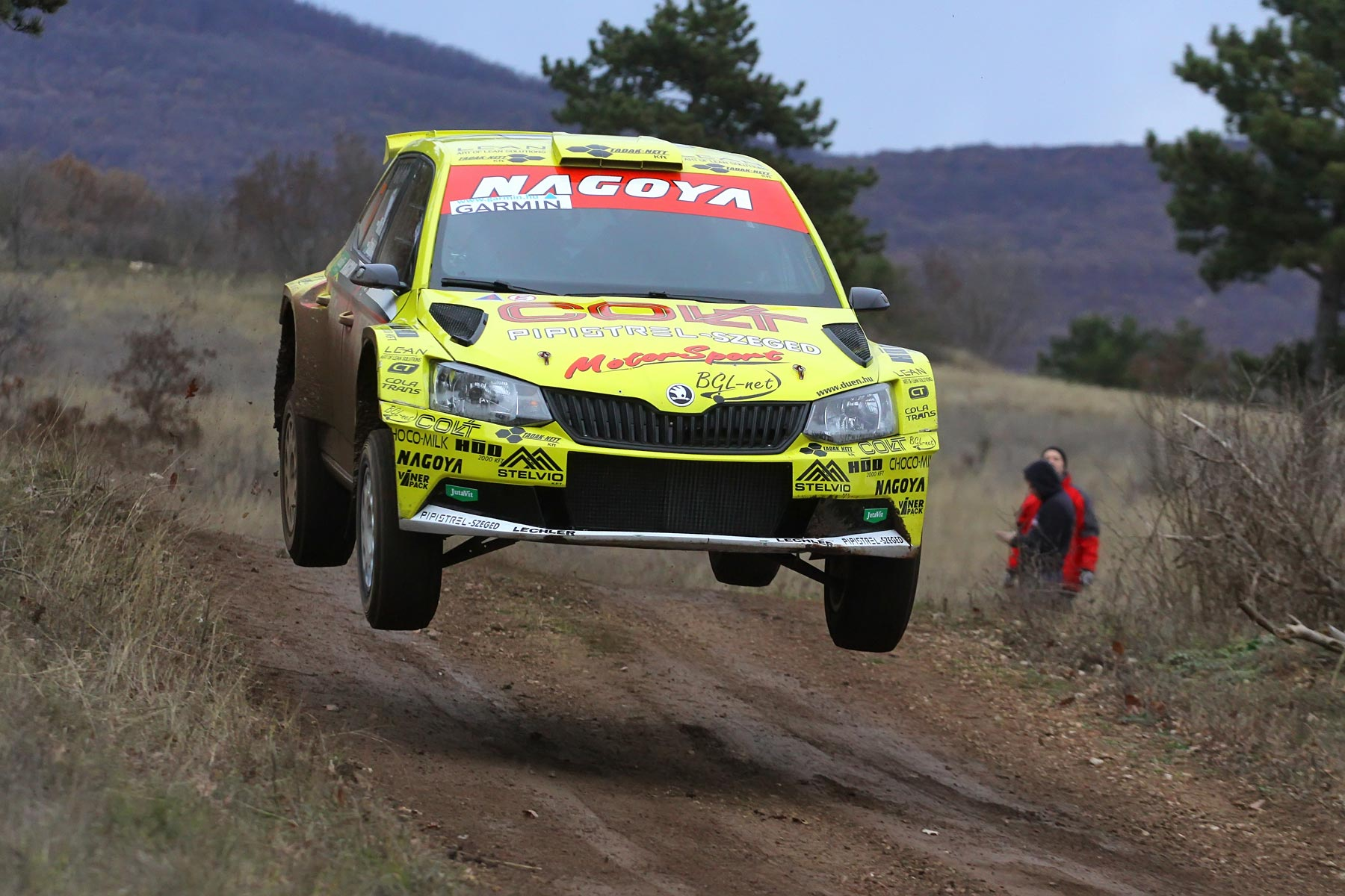 Ollé Sasa nyerte a Mikulás rallyt