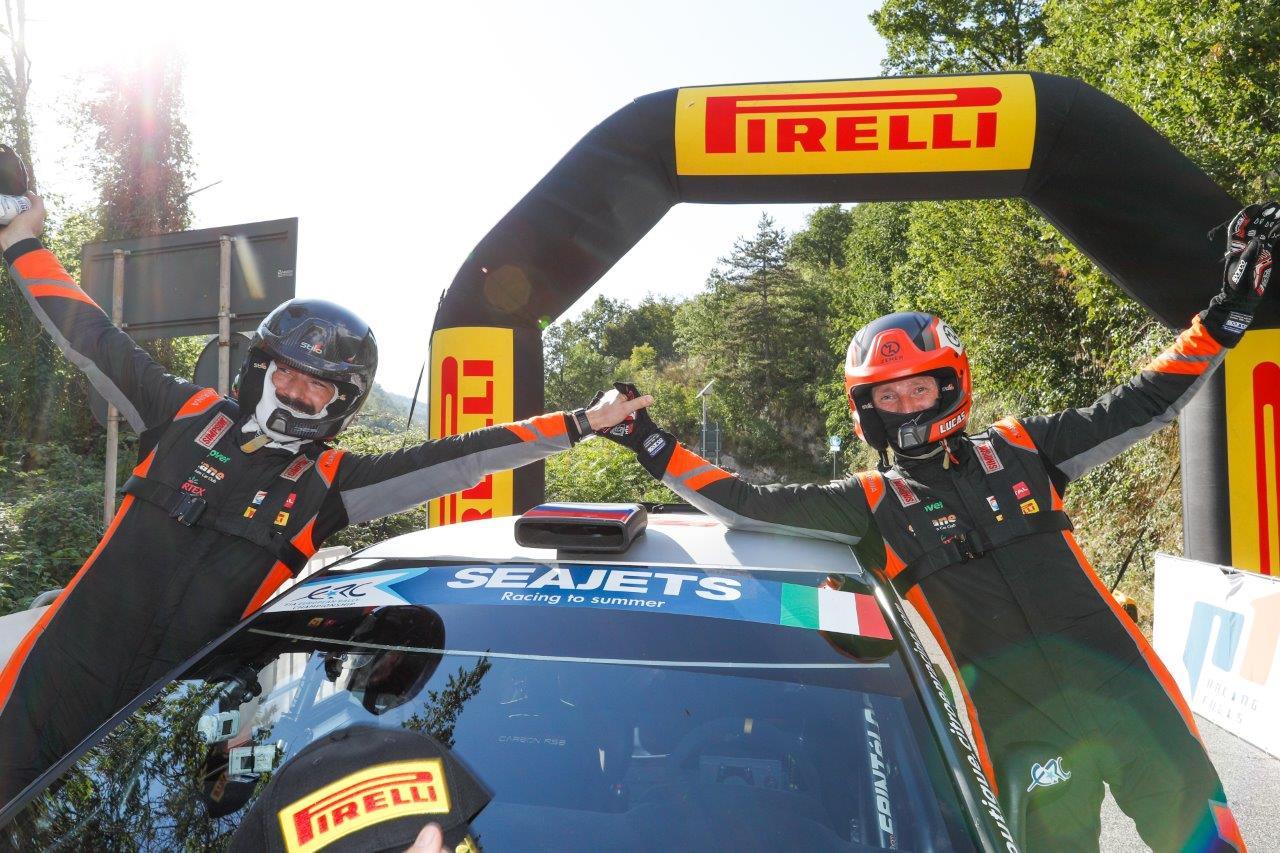 Alexey Lukyanuk nyerte az olasz rally ERC futamot