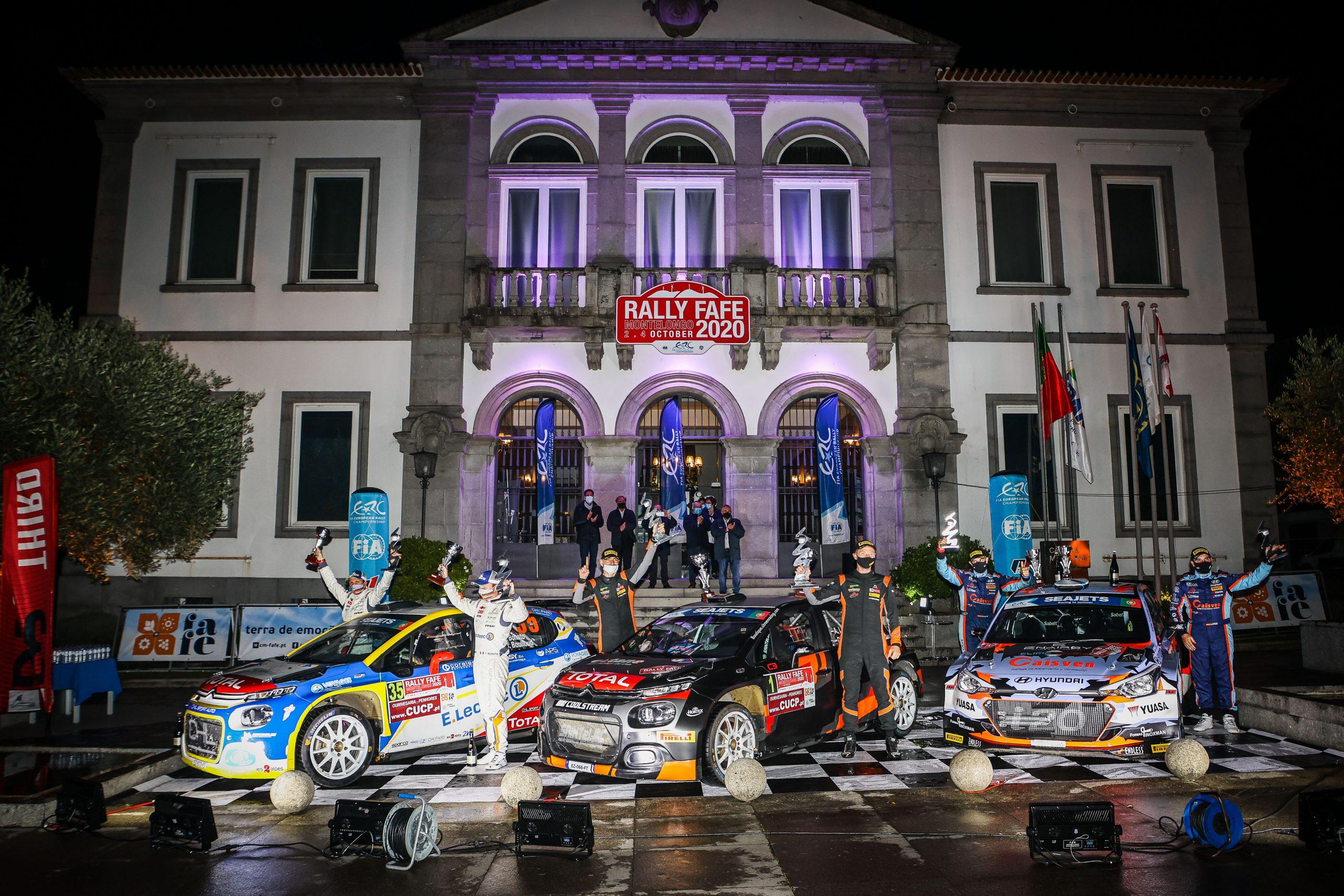 Magyar győzelem a Portugál rally futamon