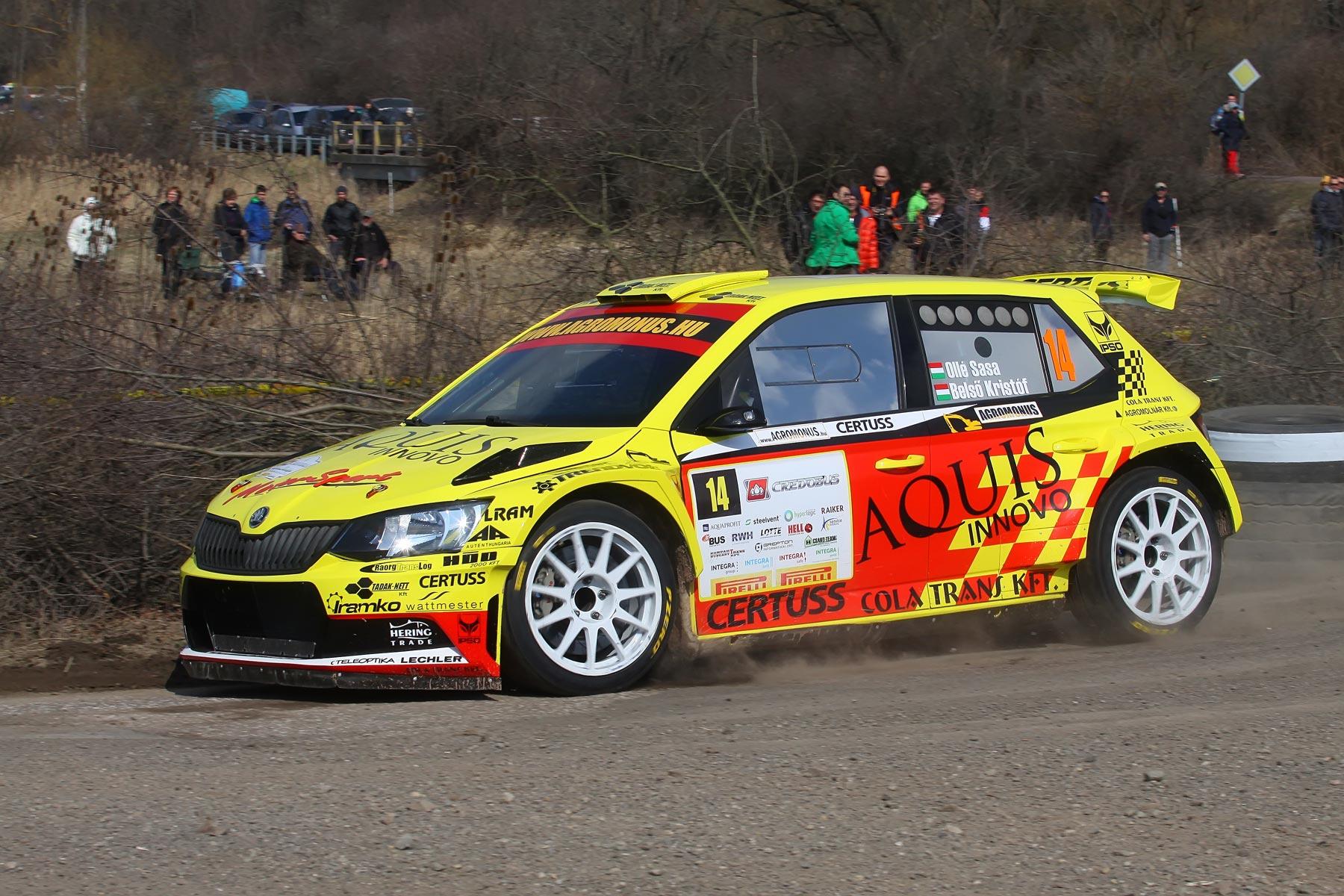 Credobus Eger Rallye 2018, Beszámoló