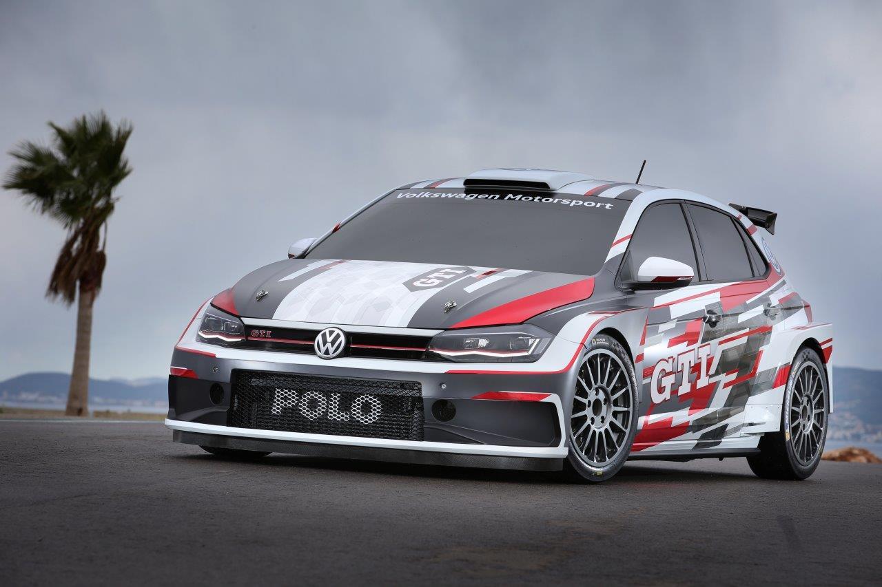 Bemutatták a VW Polo GTi R5 rally autót