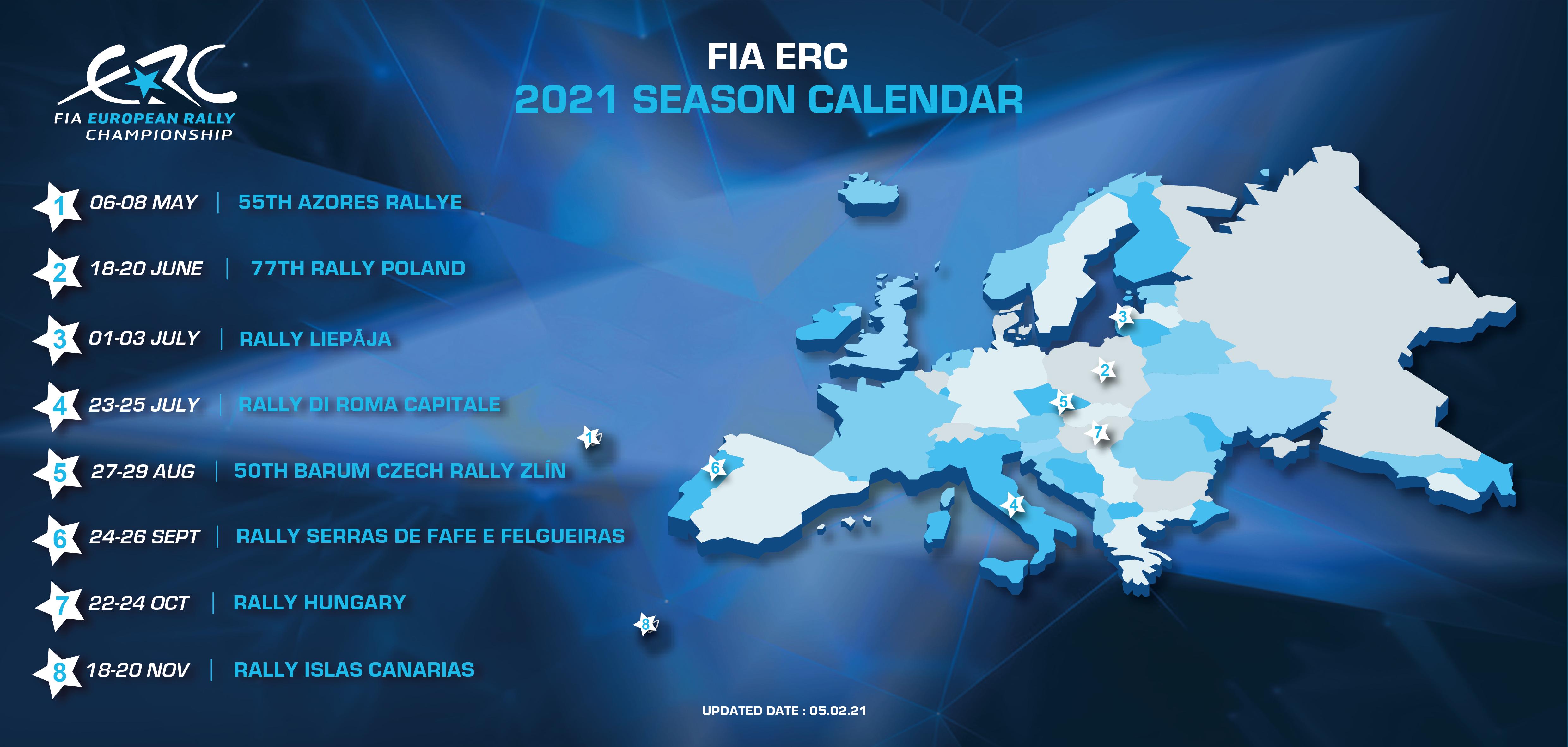 Máris változott az rally Európa bajnokság naptára