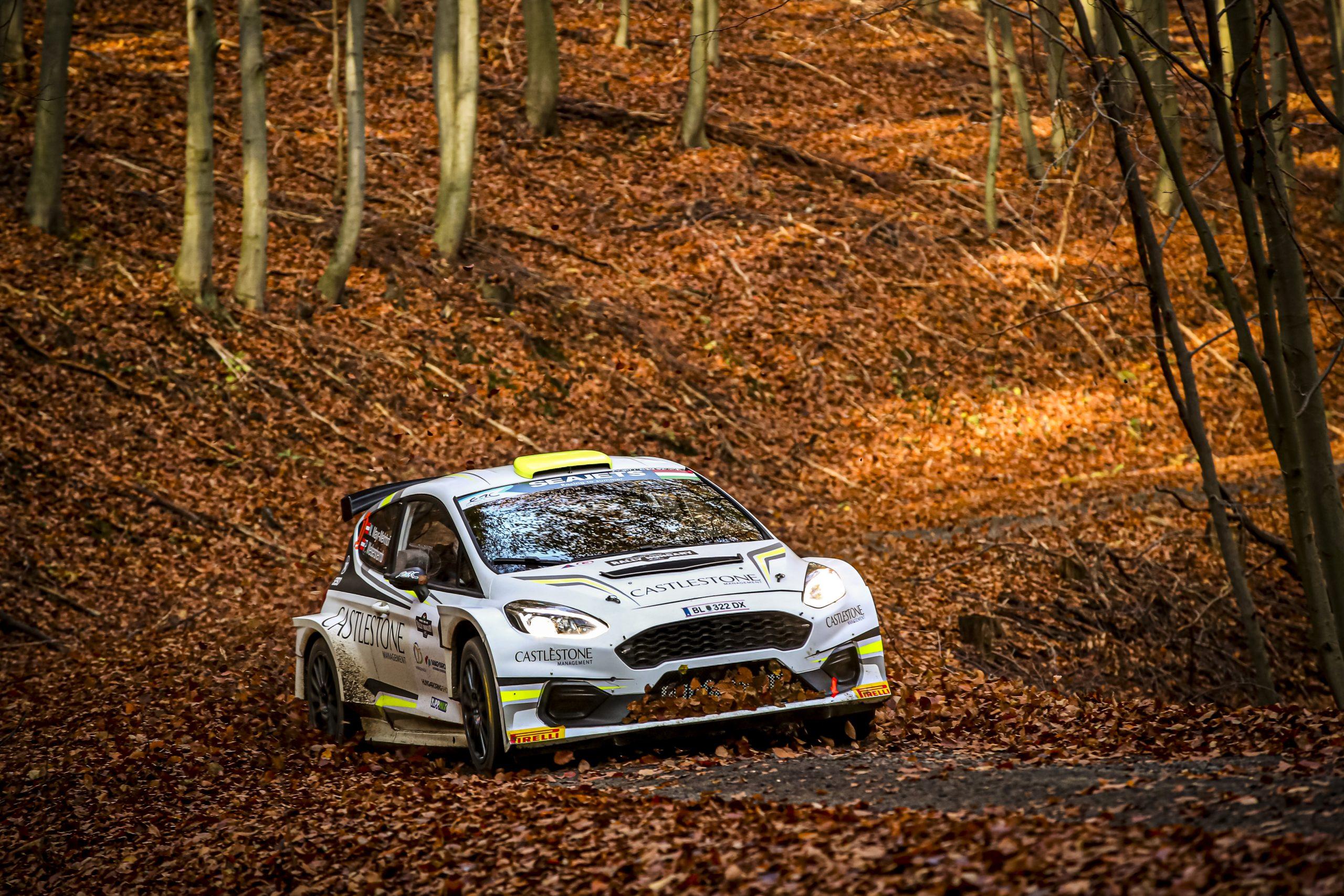 Andreas Mikkelsen nyerte a II. Rally Hungary ERC futamot