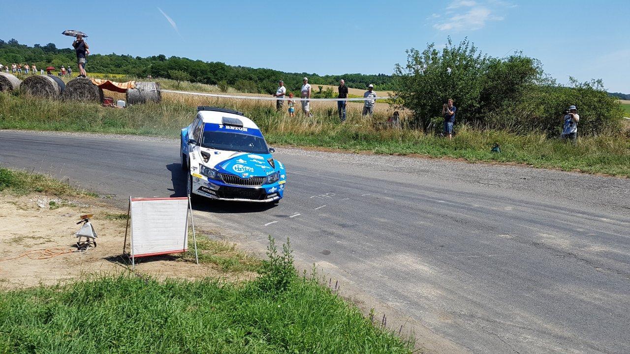 Ranga Péter nyerte a Veszprém rallyt