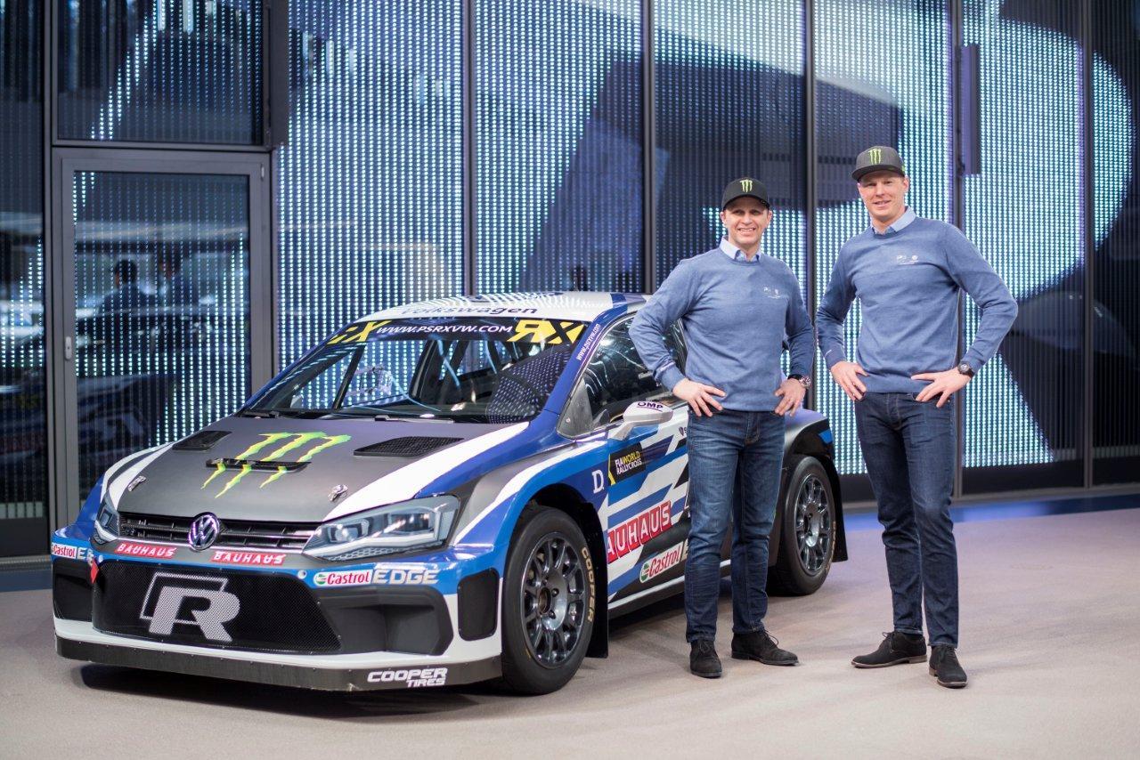 Petter Solberg idei RX csapata