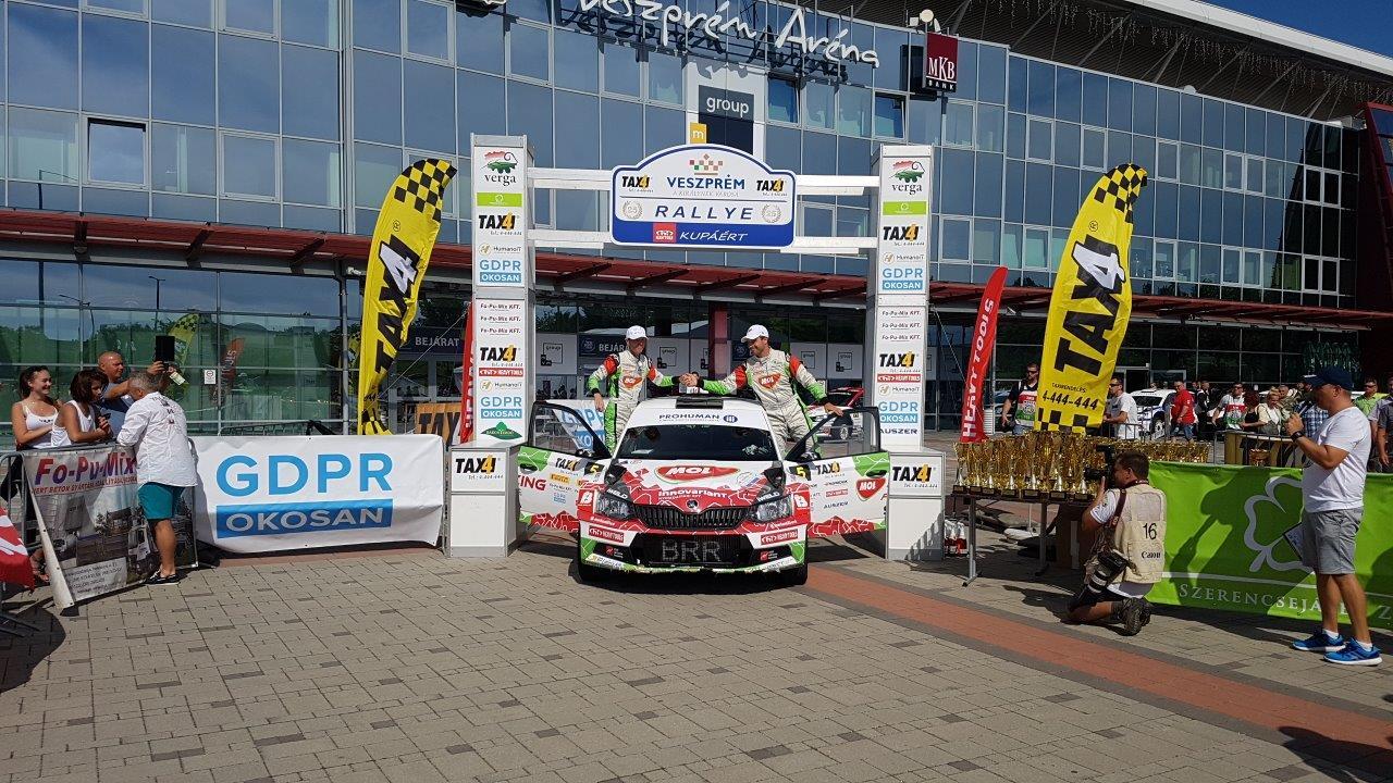 Herczig nyert de mégsem - 25.Veszprém rally
