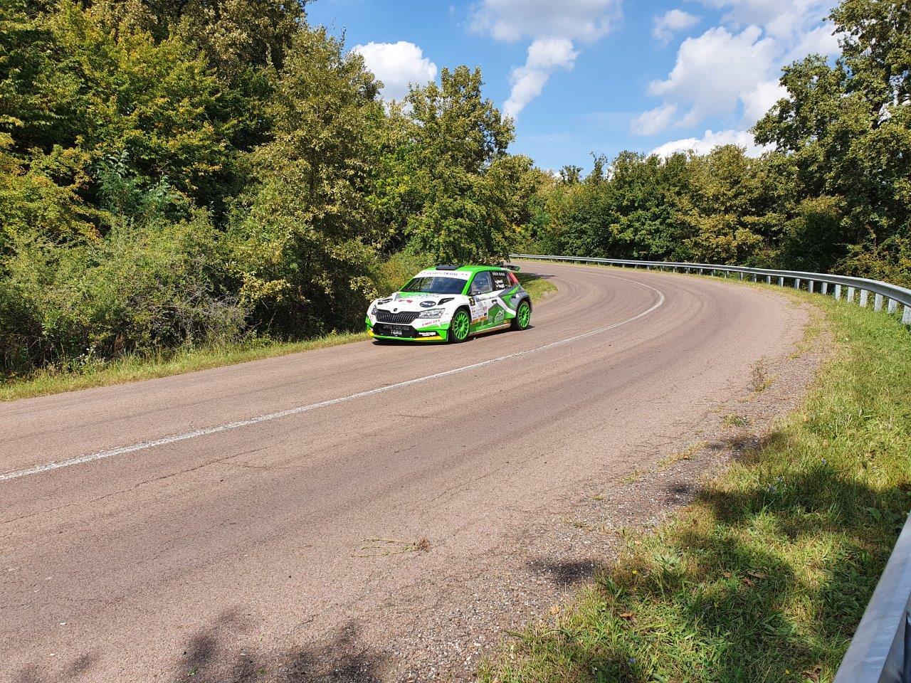 Vincze Ferencék nyerték az Eger rallyt