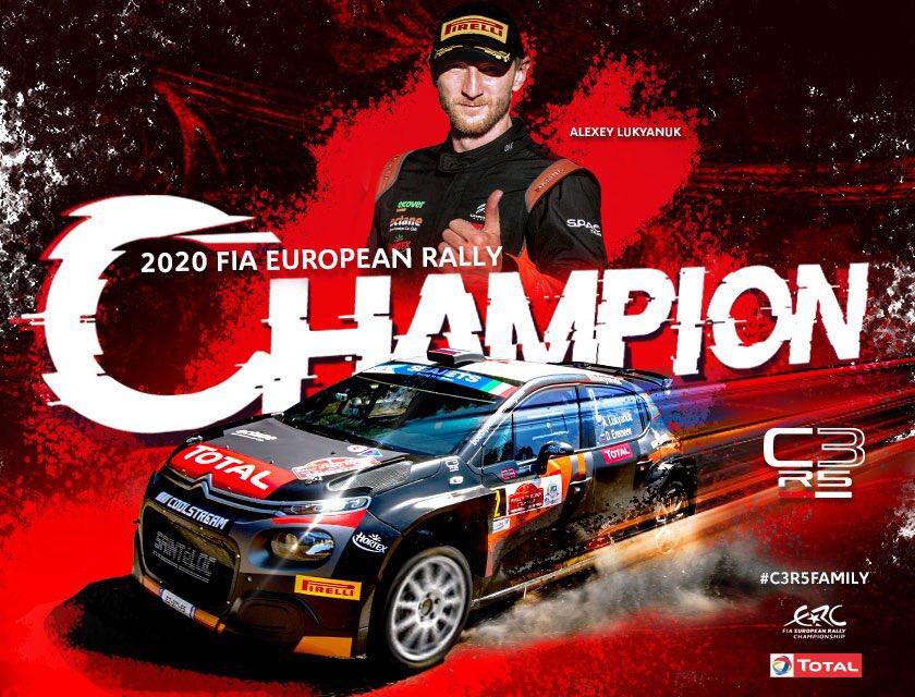 Alexey Lukyanuk a rally Európa bajnok!