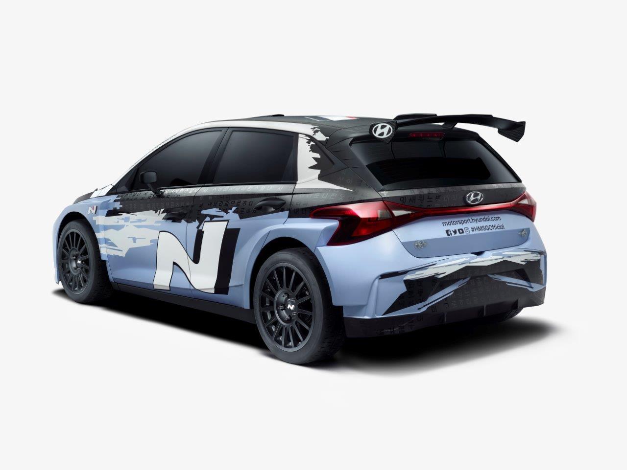 Íme az új Hyundai i20 N Rally2 versenyautó
