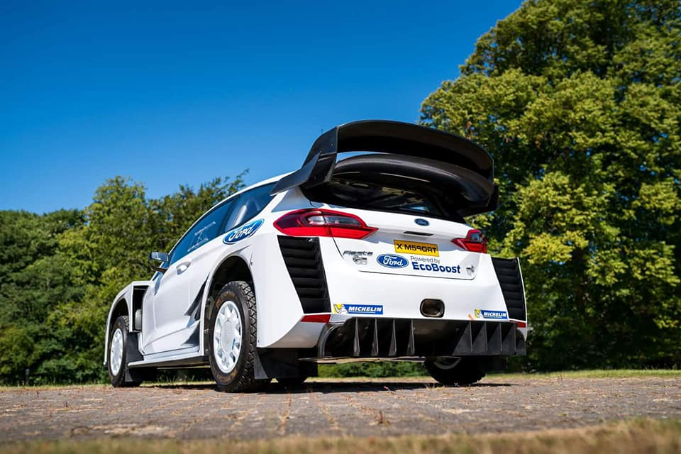 Új hátsóval indul a Ford Fiesta WRC a Finn rallyn