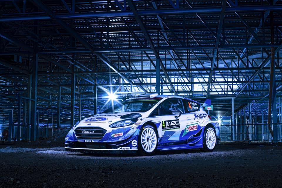 A Ford Fiesta WRC idei színei