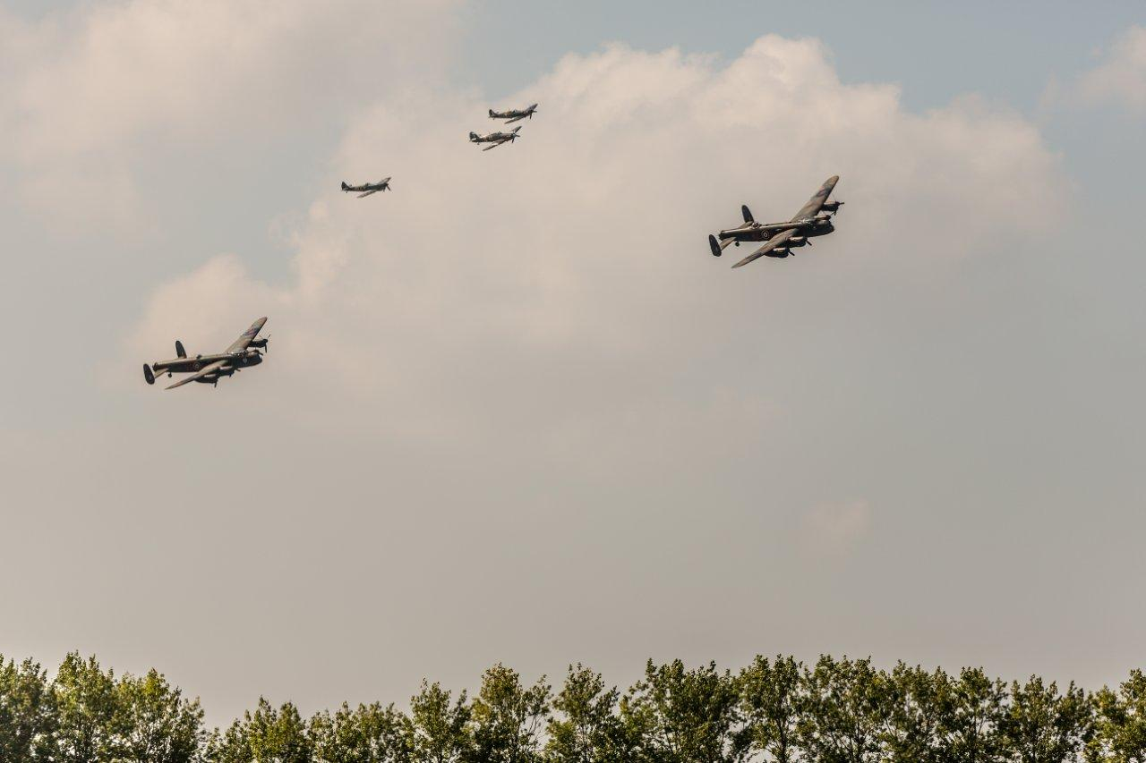 Lancaster display at Goodwood.jpg