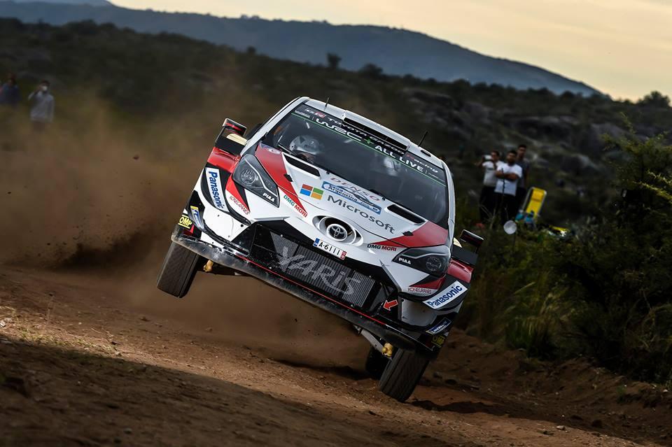 Ott Tanak nyerte az Argentin rally VB futamot
