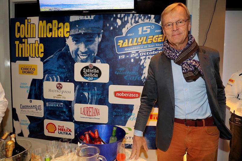 Ari Vatanen is a Rallylegendre meg