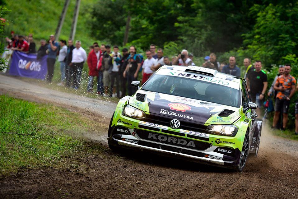 Turán Frigyes a Salgó rally győztese