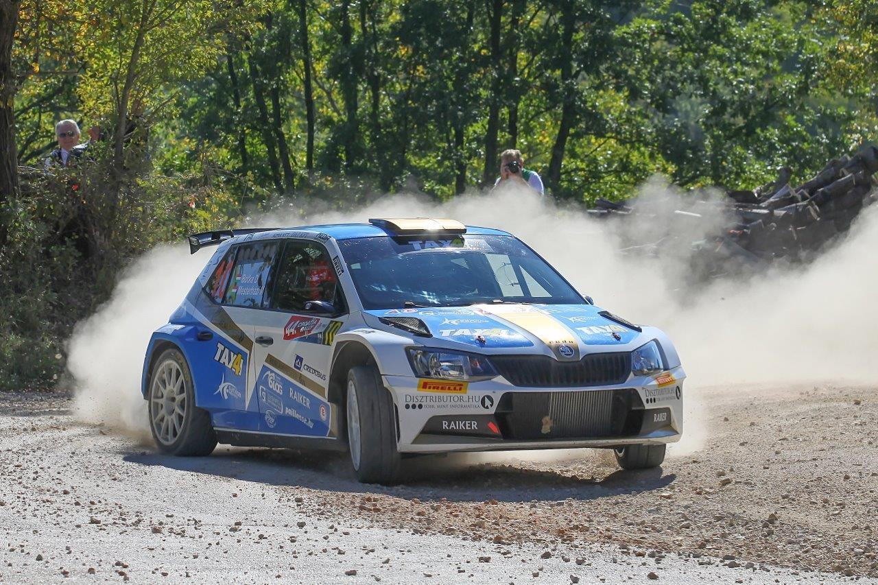 Győzelem Horvátországban - Botka Rally Team