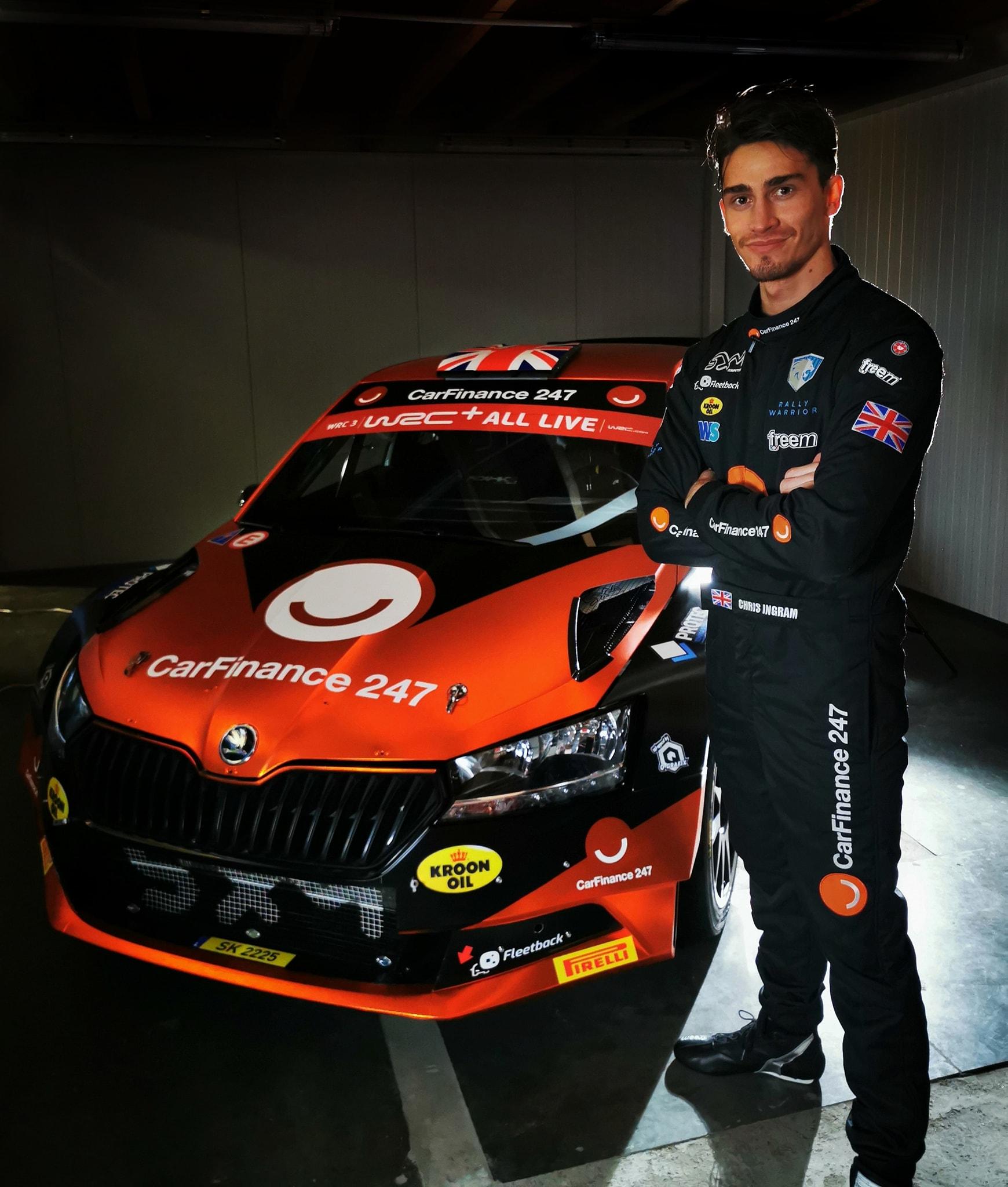 Chris Ingram is a WRC-3-ban folytatja
