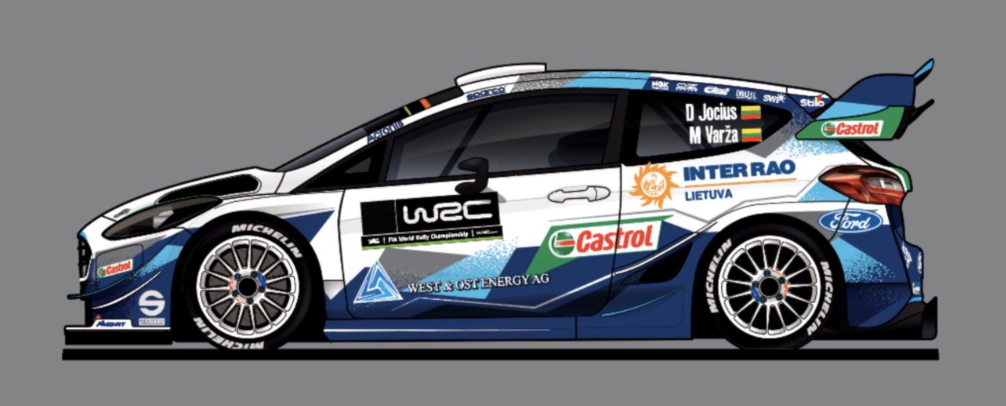 4db Ford Fiesta WRC lesz a Svéd ralin is
