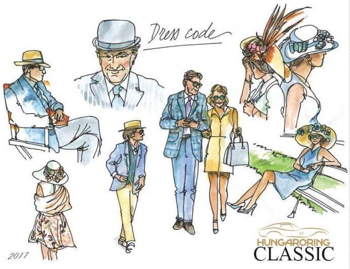 Hungaroring Classic 2017 - dress code