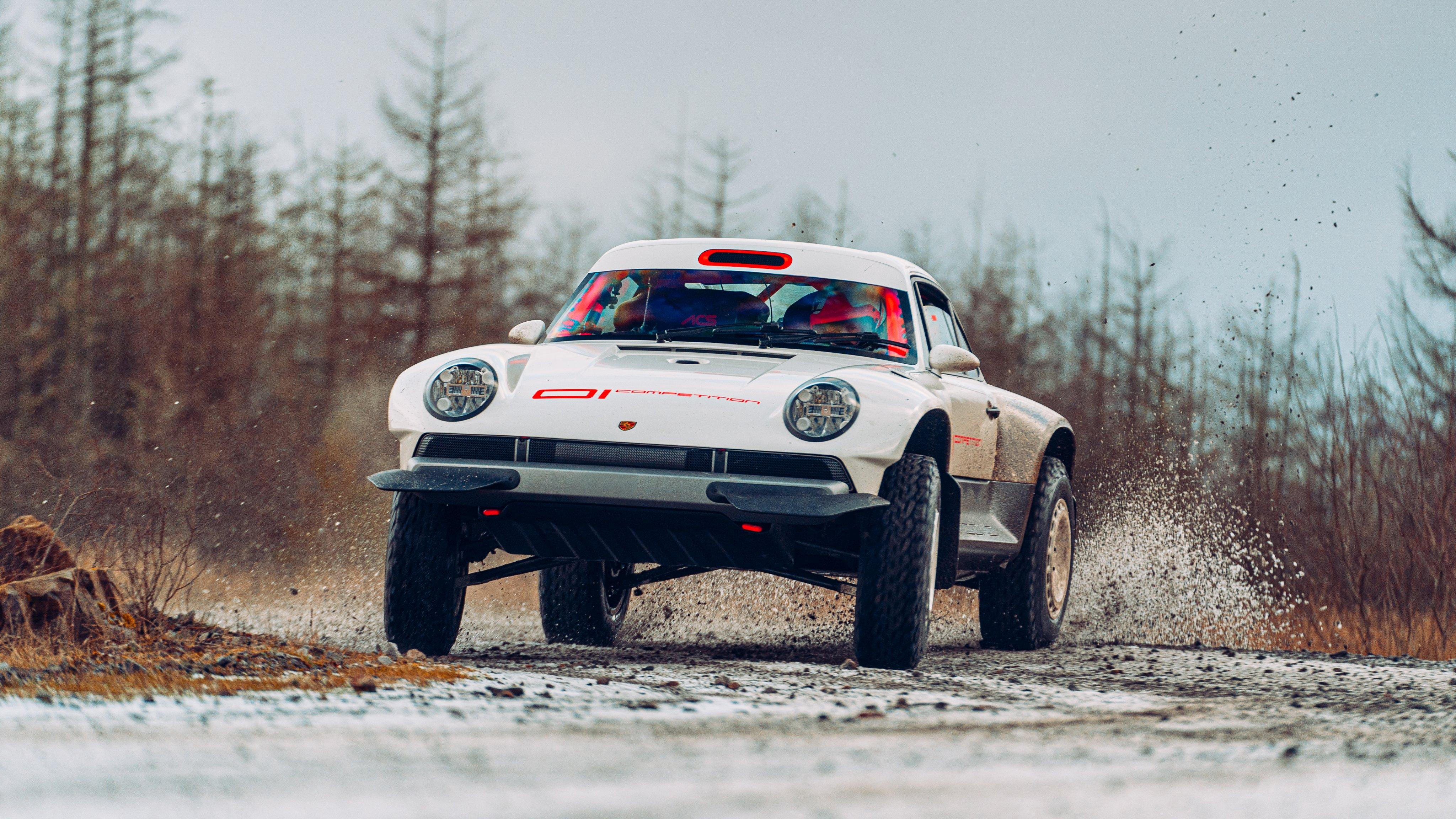 Porsche off-road vadállat a Singer-től