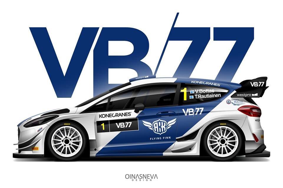 Íme Valteri Bottasék Ford Fiesta WRC-je