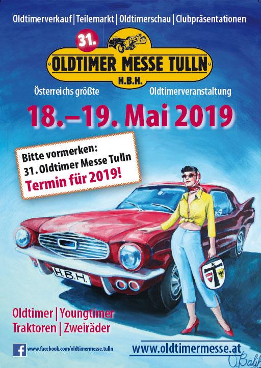 Idén is lesz Tullnban oldtimer kiállítás