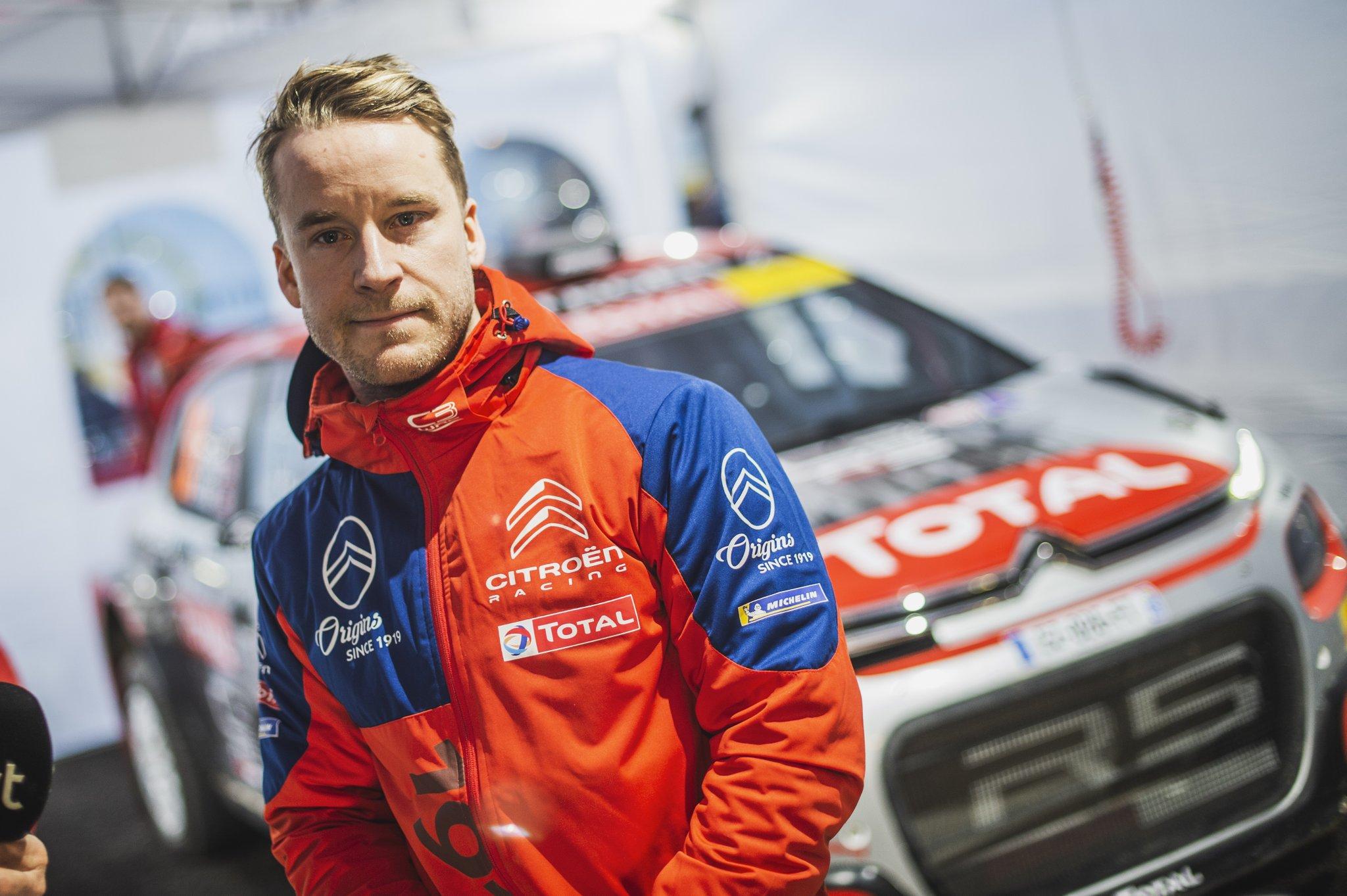 Mads Ostberg a rally VB-n is rajthoz áll