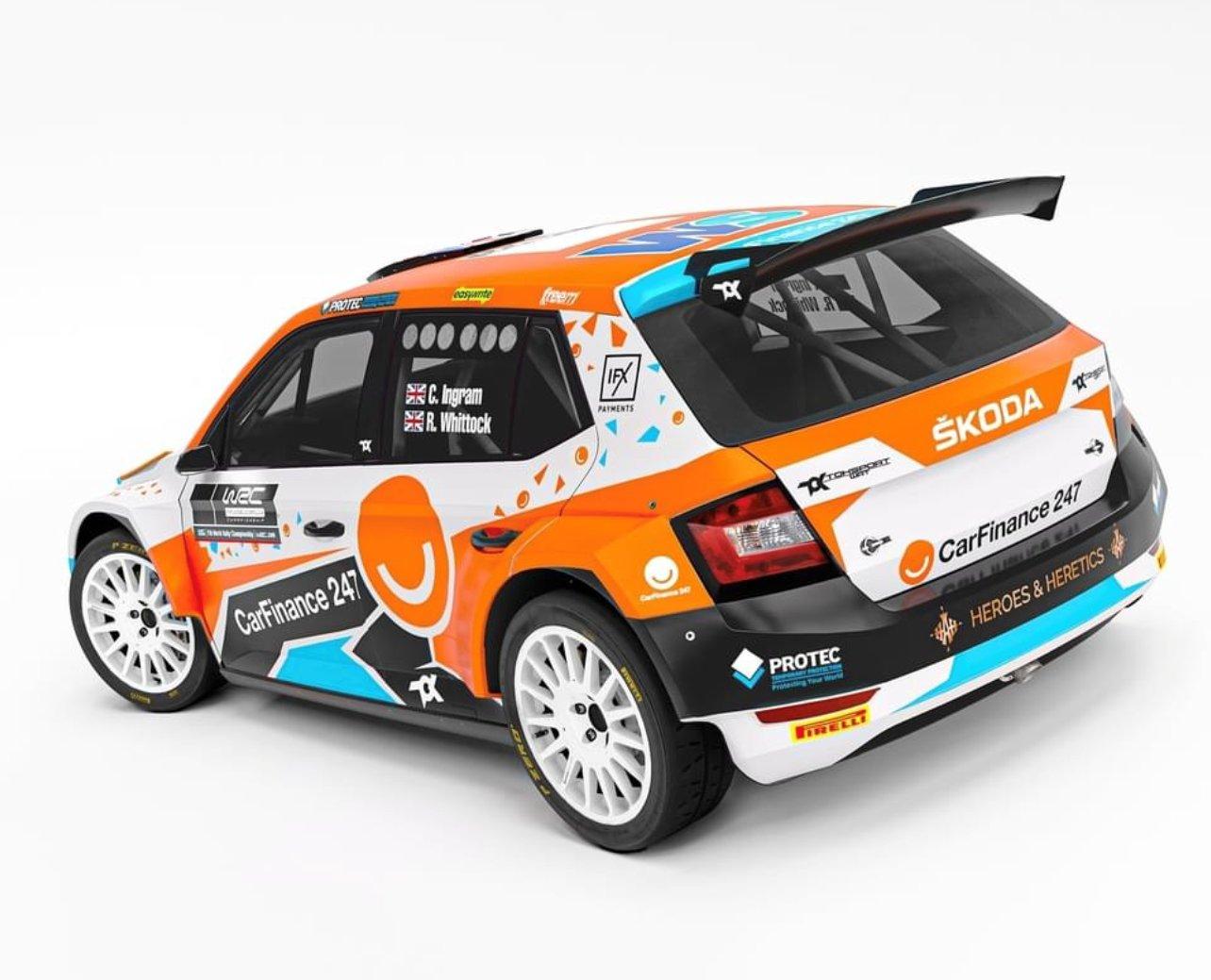 Teljes rally VB szezon Chris Ingram-nek