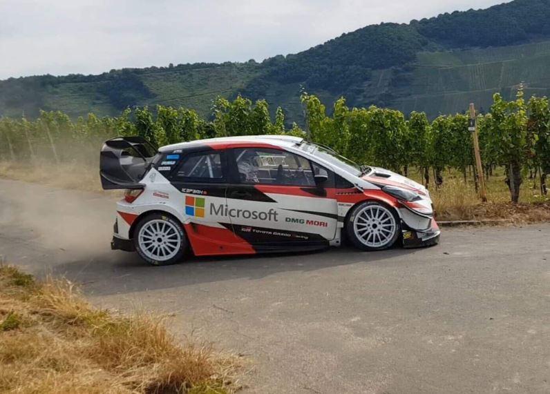 A Német rallyra készül a Toyota WRC csapata