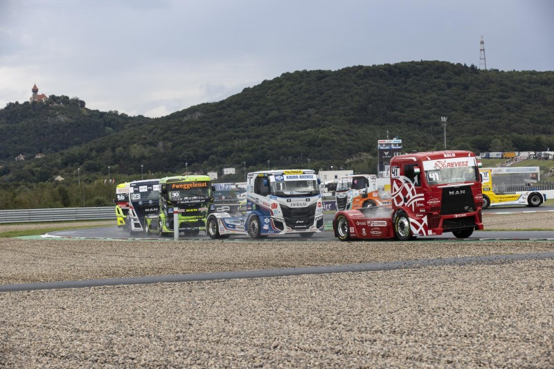 Kiss Norbert uralta a cseh kamion EB fordulót