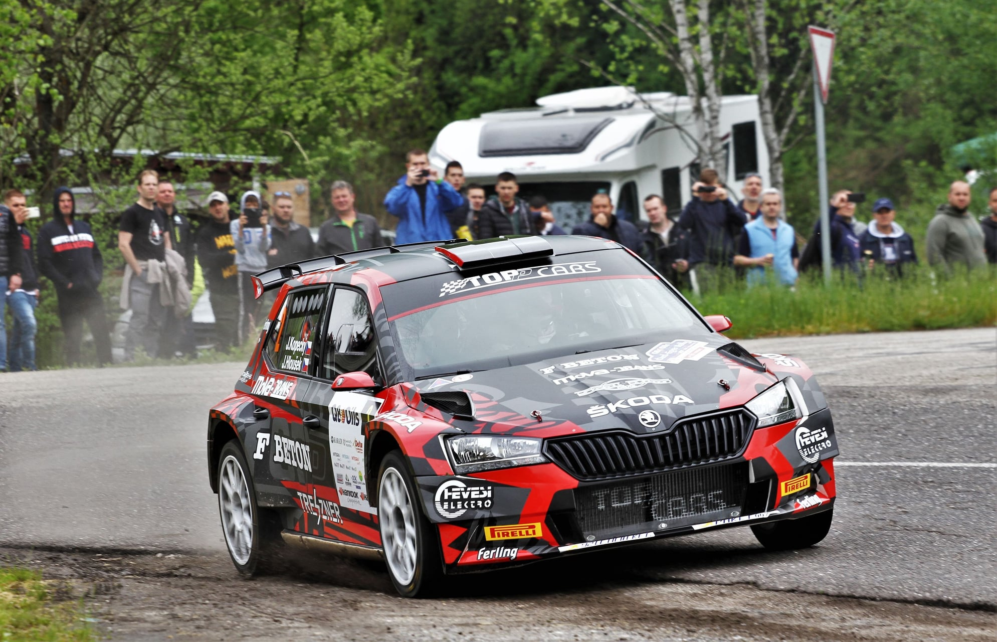 Kopeczky, ifj. Fogarasi, Bíró és Wirtmann nyertek az Ózd-Eger rallyn