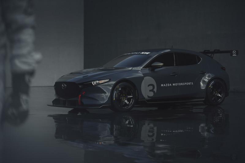 Bemutatták a Mazda 3 TCR versenyautót