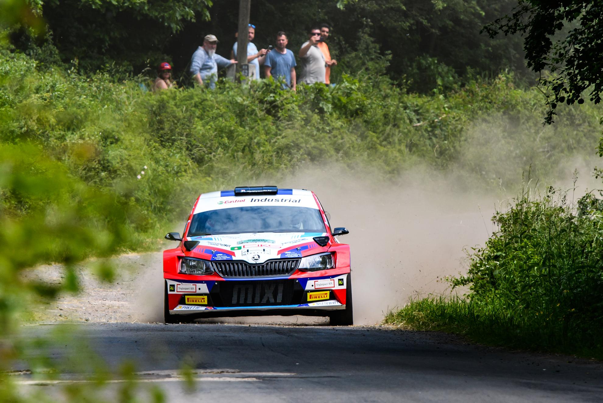 Csomós Miklós nyerte a Salgó rallyt