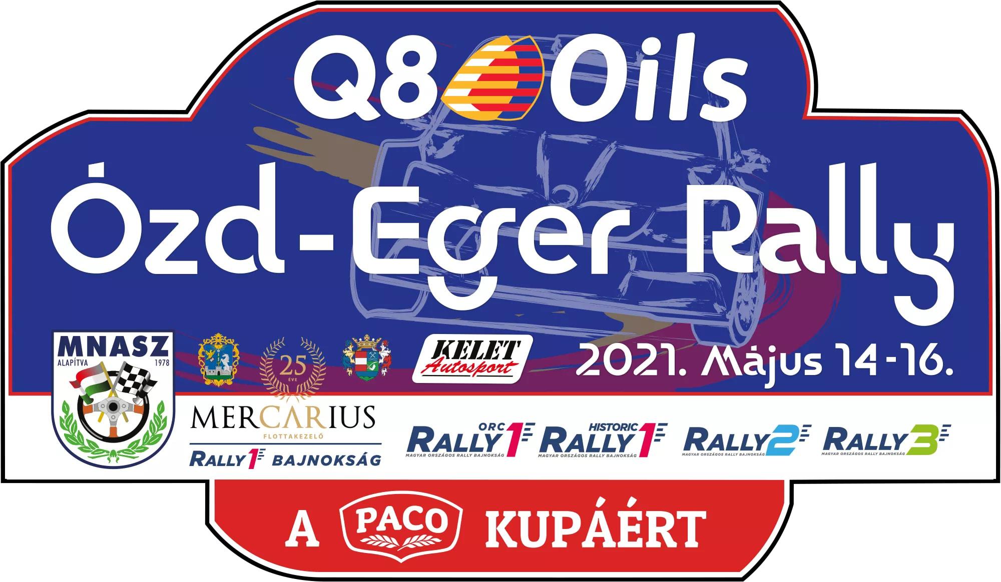 Hétvégén lesz az Ózd - Eger rally
