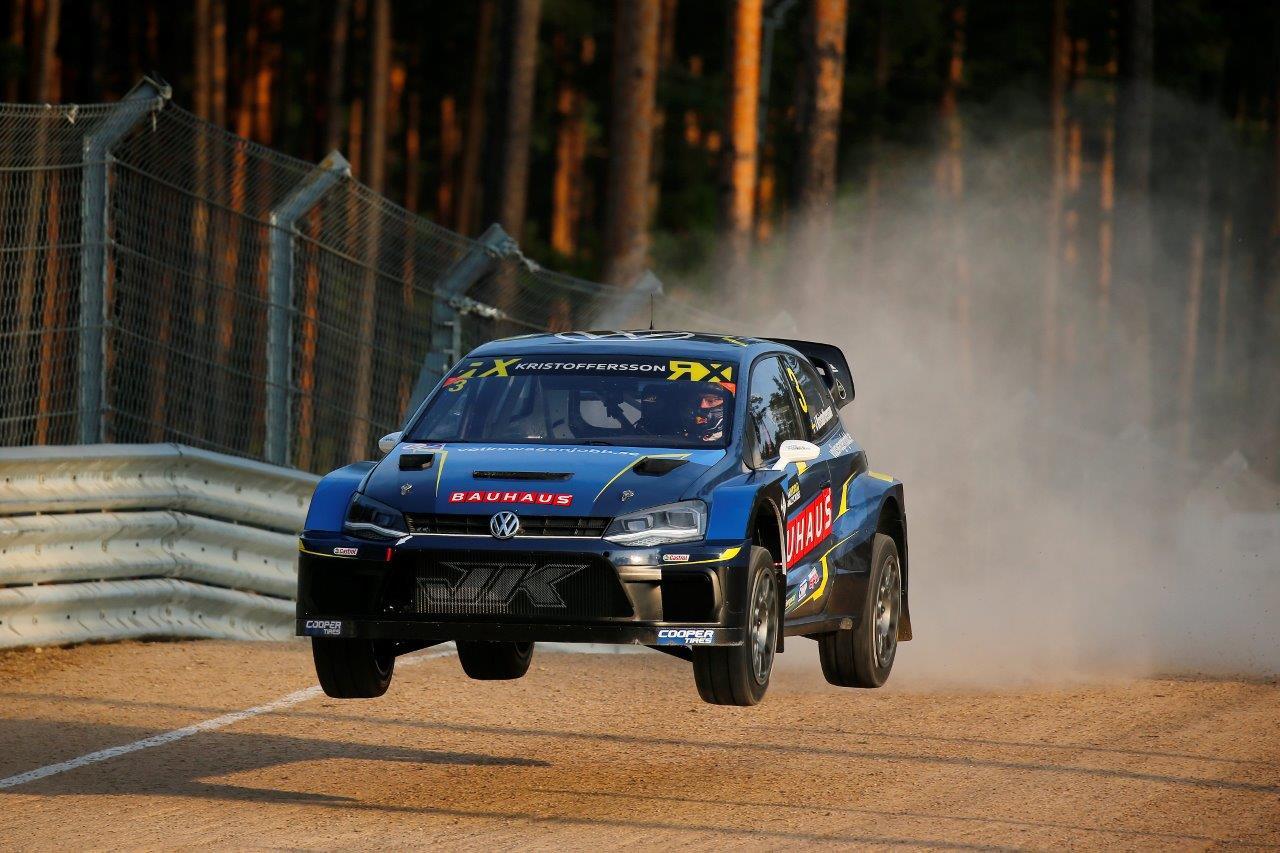 Svéd uralom a Lett rallycross VB-n