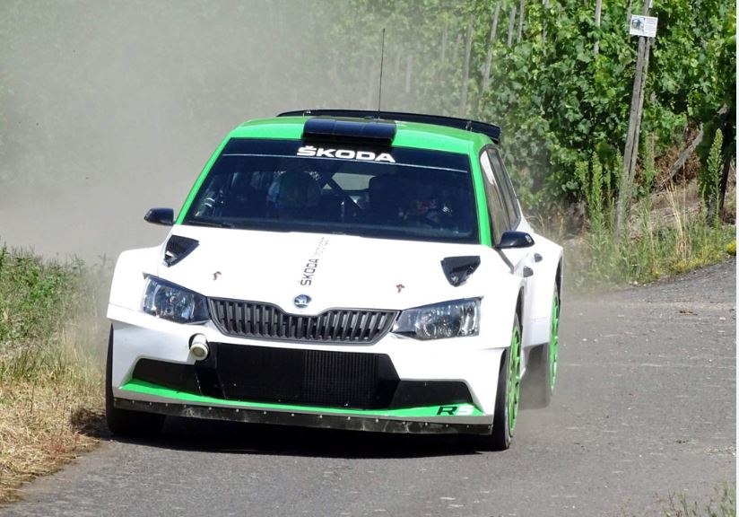 A Német rallyra tesztel a Skoda Motorsport és Kalle Rovanpera