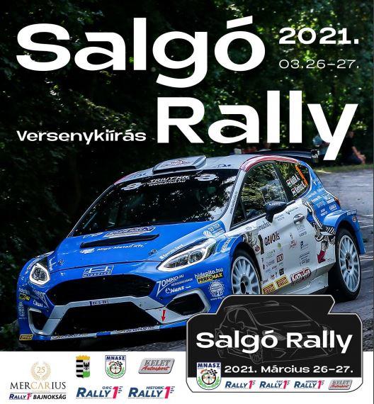 Salgó rally 2021 versenykiírása
