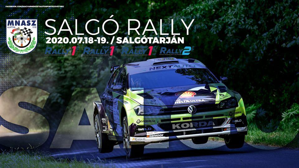 Most vasárnap lesz a Salgó rally!