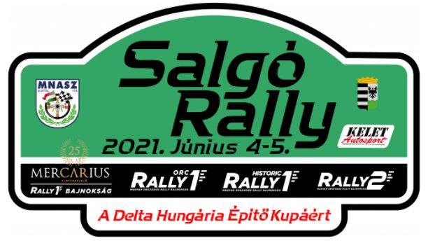 Hétvégén Salgó rally lesz