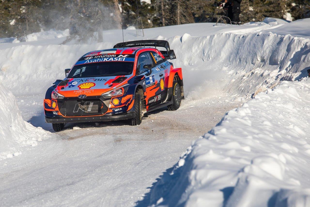 Ott Tanak nyerte a havas Finn rallyt
