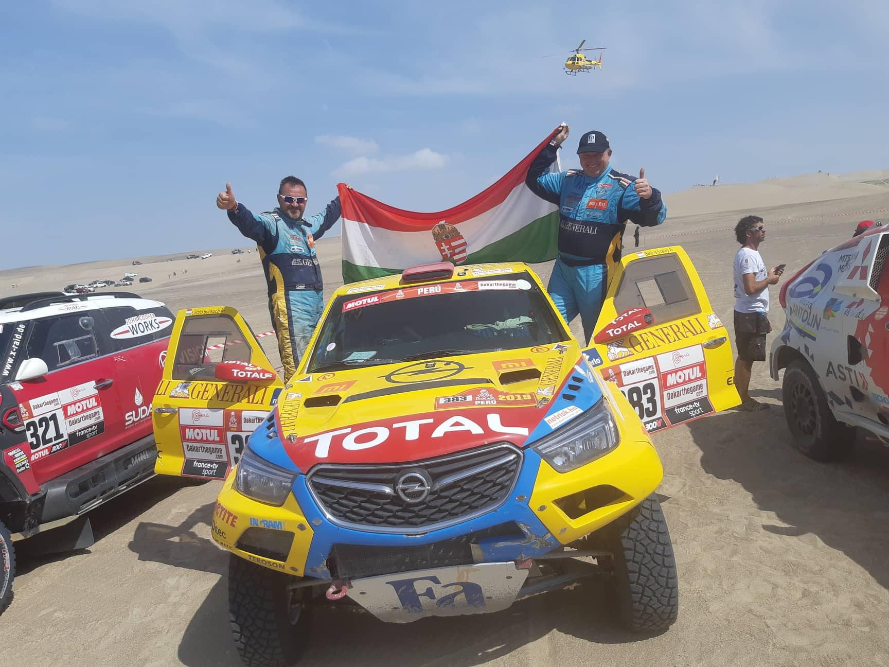 Nehéz Dakar volt!