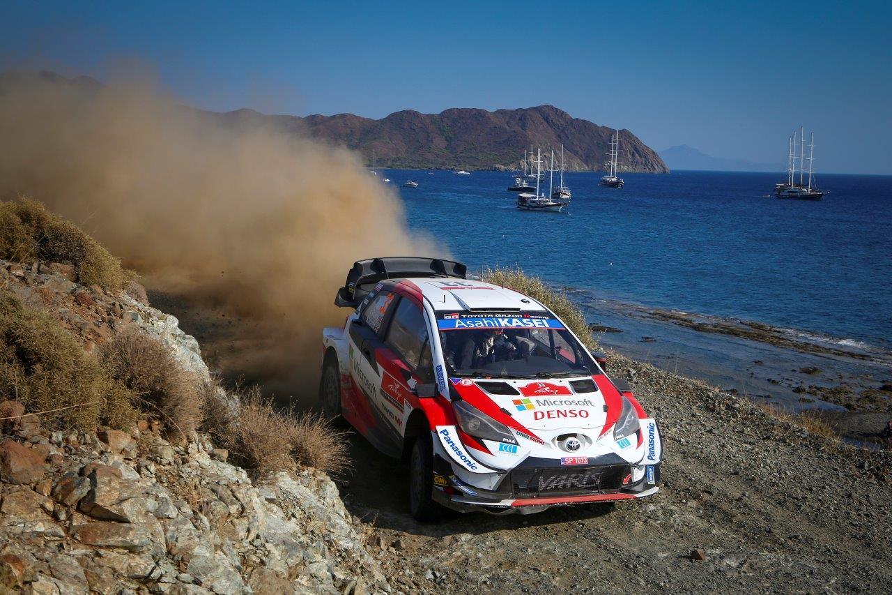 Elfyn Evans nyerte a Török rallyt