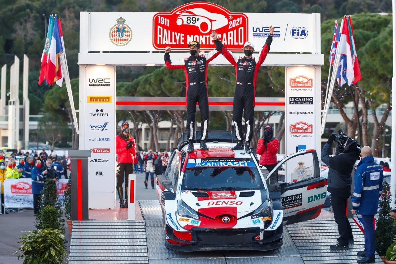 Sebastien Ogier nyerte a Monte-Carlo rallyt