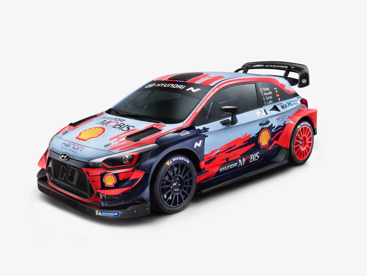 Megvan a harmadik idei rali VB csapat is, íme a Hyundai i20 WRC