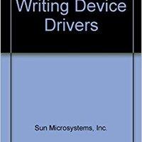 Writing Device Drivers Inc. Sun Microsystems