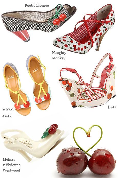 gyümölcsdíszítés cipőn
