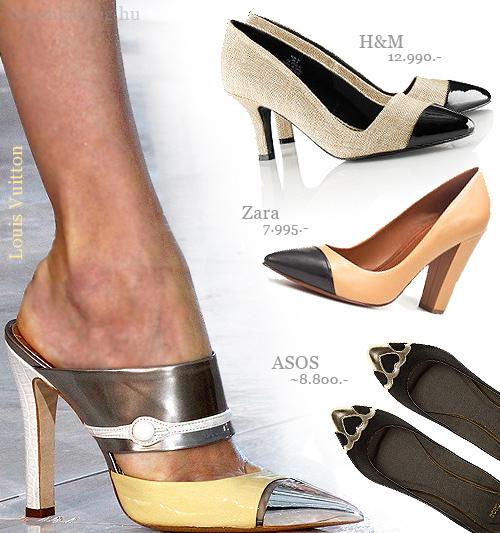 toecap cipő kaplival