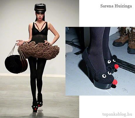 AFW 2012 Sarena Huizinga egér cipő