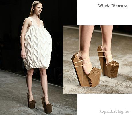 Winde  Riendtra fa cipő rétegelt